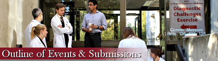 Outline of Events and Submissions Banner