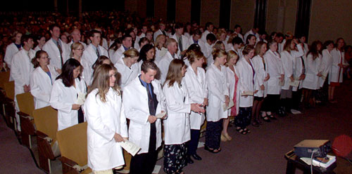 White Coat Ceremony, Class of 2006